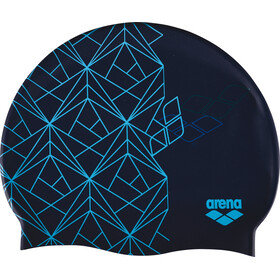 arena Print 2 Swimming Cap escher blue